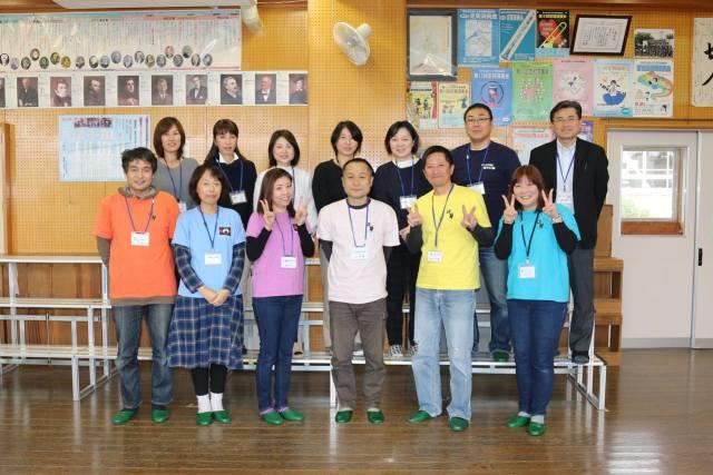 那珂川北中学校 錦が丘中学校に訪問