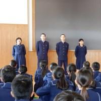 那珂川北中学校 体育祭リーダー集会