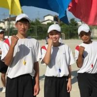 那珂川北中学校 平成30年度体育祭 ブロック長