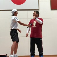 那珂川北中学校 第15回体育祭の練習