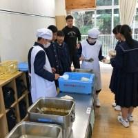 那珂川北中学校 初めてのテスト、初めての給食、部活動紹介