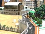 那珂川北中学校 ジオラマ