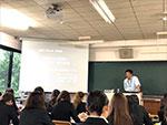 那珂川北中学校 大学への出前授業