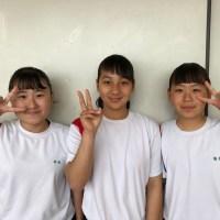 那珂川北中学校 赤ブロックリーダー