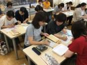那珂川北中学校 そよかぜフェスタ食券集約作業