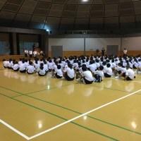 那珂川北中学校 令和元年度自然教室