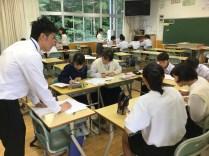 那珂川北中学校 1・2年生「Nスペ講座」の開催
