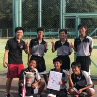 那珂川北中学校 男子ソフトテニス部