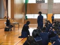 那珂川北中学校 卒業生による講演会