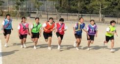 那珂川北中学校 北風走