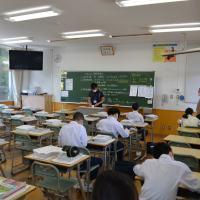 那珂川北中学校 分散登校