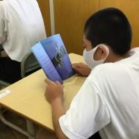 那珂川北中学校 朝読書と英語の多読