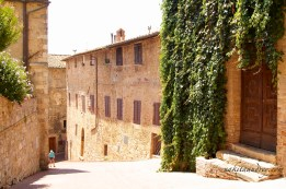 Beautiful San Gimignano alley