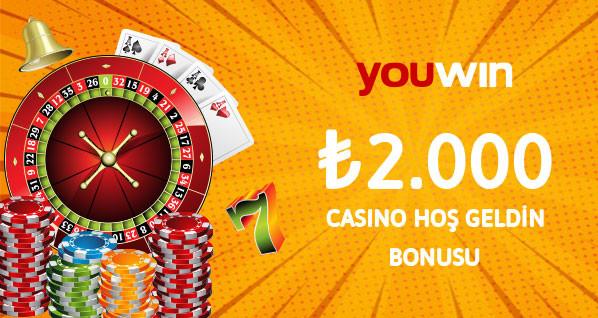 2000 TL casino hoş geldin bonusu