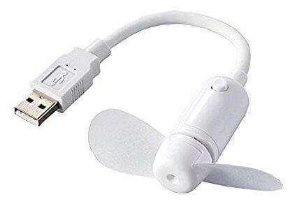 オフィスでの暑さ対策に、USB扇風機が静穏でおしゃれなので紹介します