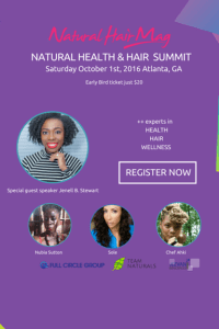 Natural Hair Mag Health and Hair Summit