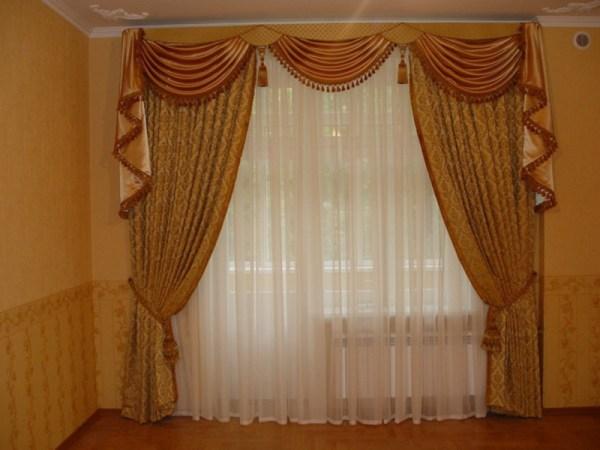 Шторы ламбрекены своими руками фото как сшить красивые шторы
