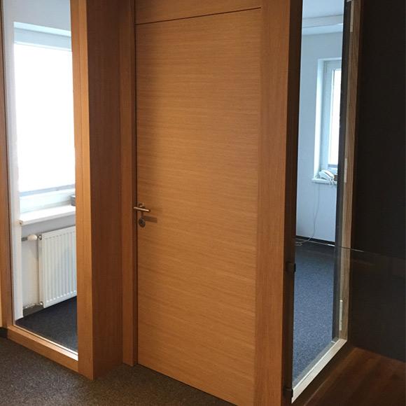 Holztüren innen, Bürotüren, Zimmertüren