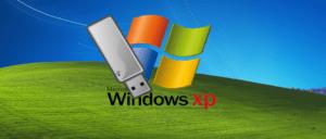 Mewujudkan pemacu kilat Windows XP dari imej ISO