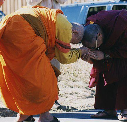 maha ghosananda e o dalai lama