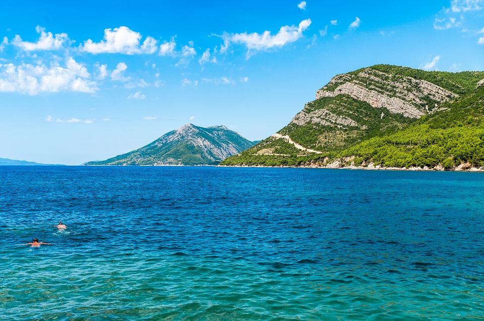 Poloostrov Pelješac – čisté moře