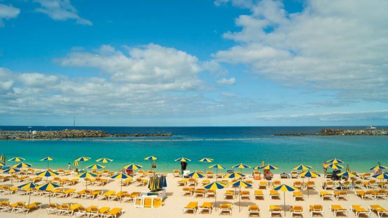 pláž Amadores, Gran Canaria