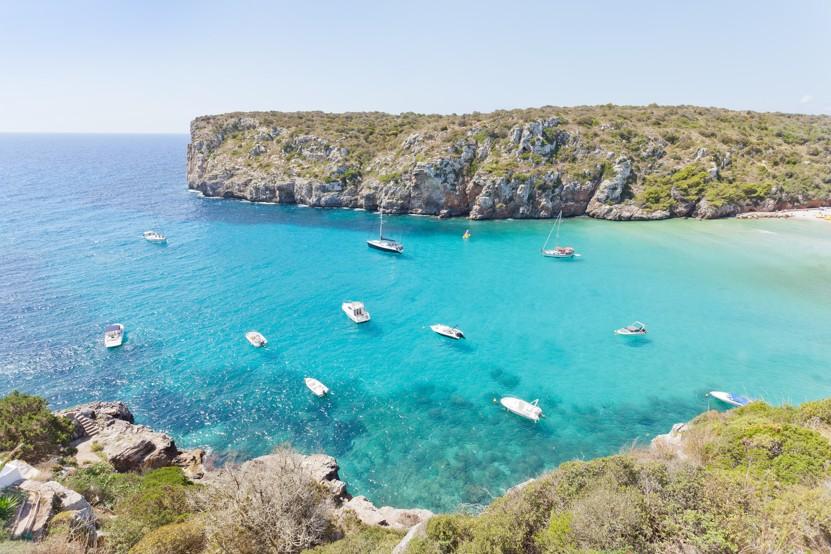 Cala en Porter in Menorca