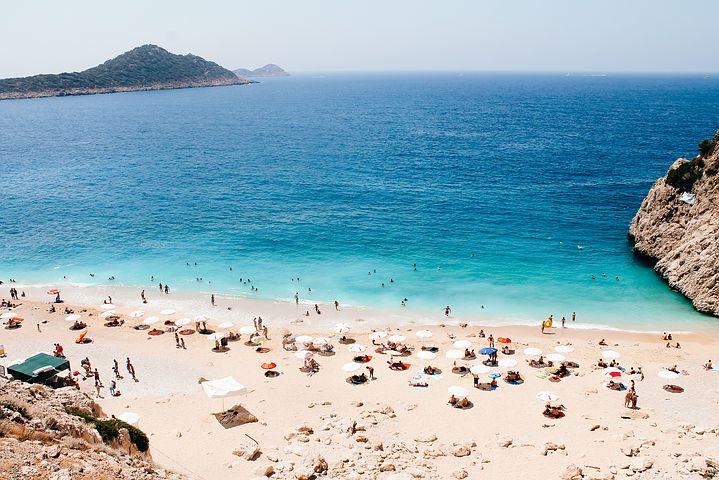 Kaputas pláž, Turecko