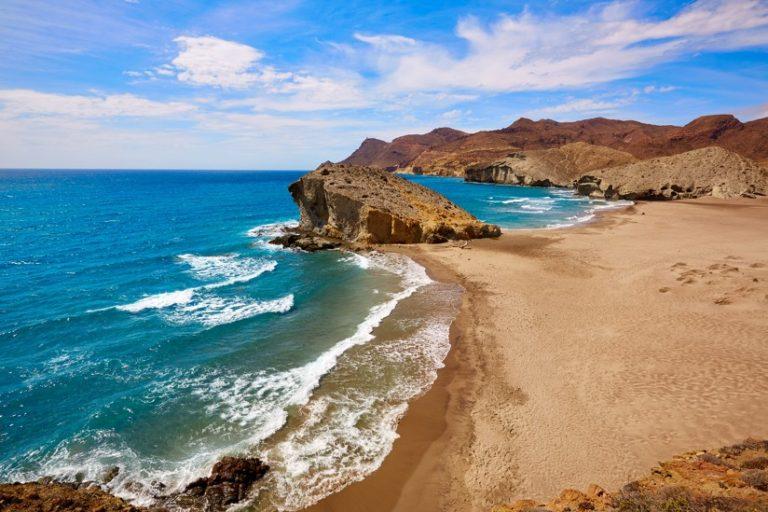Playa de Mónsul, španělsko