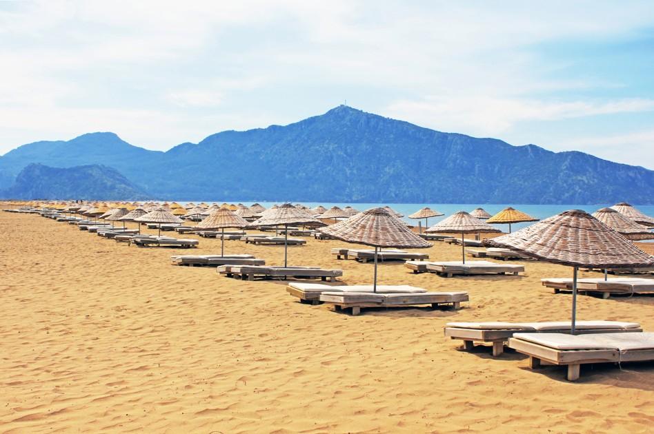 Iztuzu pláž, Dalyan, Turecko