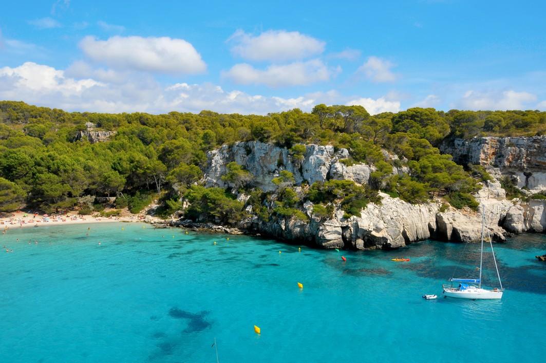 pláž Macarella, Menorca