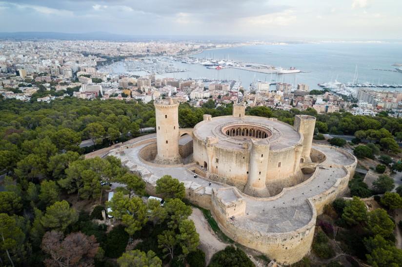 Hrad Castell de Bellver, Mallorca
