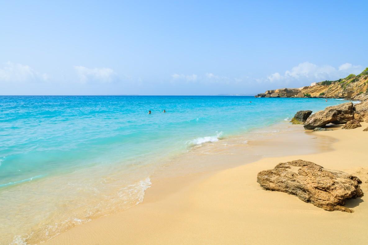 Lassi beach on Kefalonie