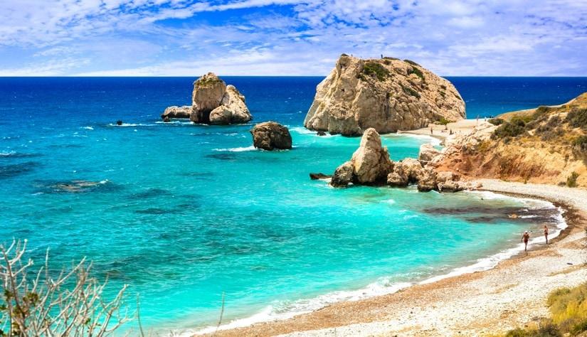 Petra tou Romiou, Kypr