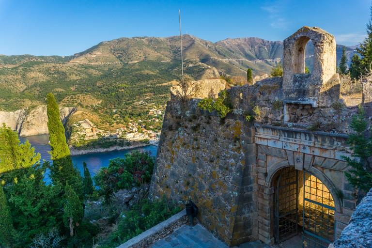 Pevnost Assos, Kefalonie