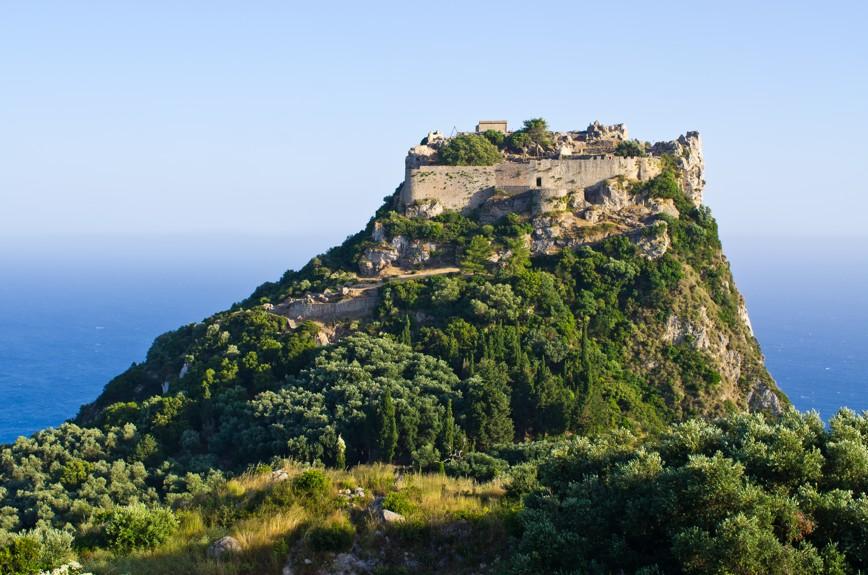 hrad Angelokastro, Korfu