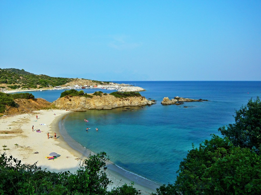 Sarti beach, Chalkidiki, Greece
