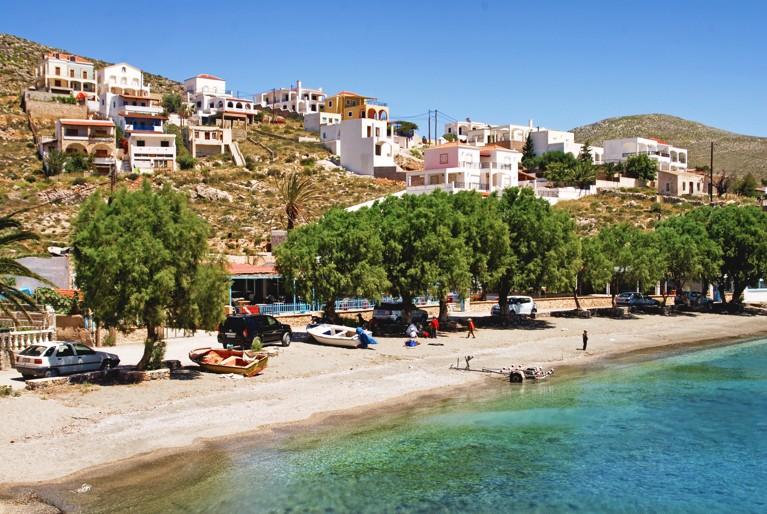 Vlychadia beach, Kalymnos