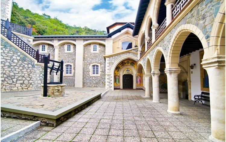 klášter Kykkos Kypr