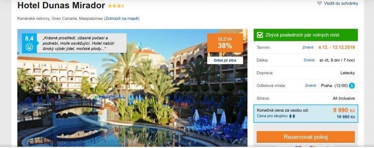 Gran Canaria zájezd