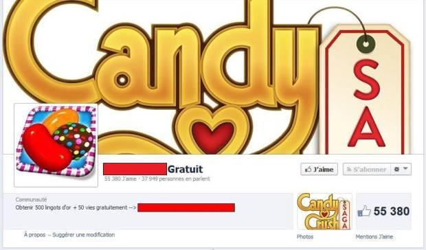 candy crush gratuit