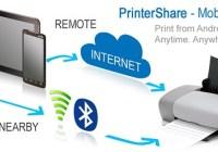 imprimer depuis votre tablette grâce à printershare