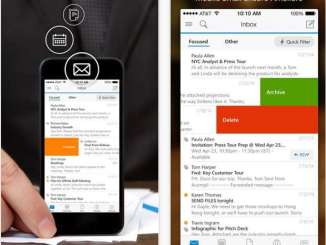 outlook pour iphone et ipad