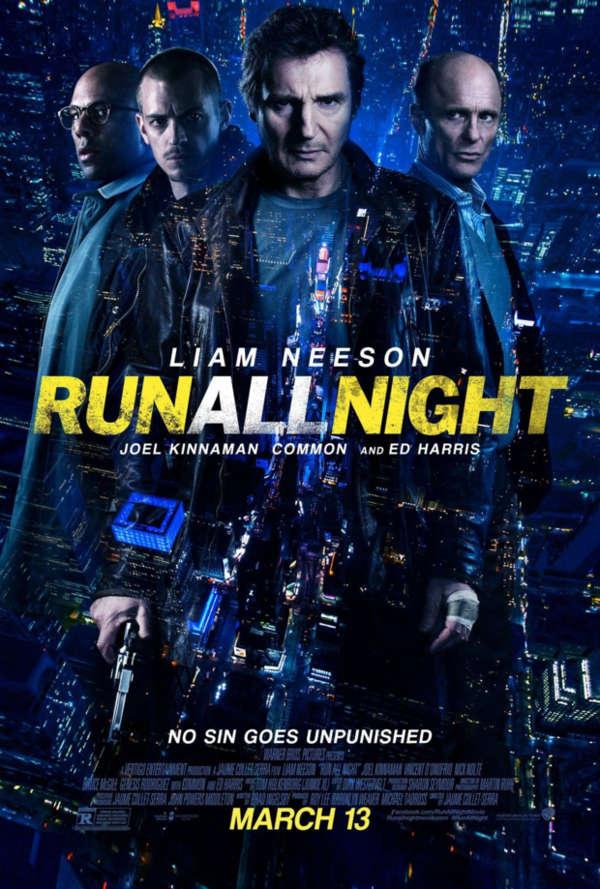 NIGHT Run movie poster