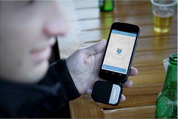 Alcohoot alcootest pour iPhone de MacWay