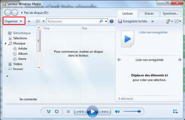 tuto convertir un cd audio en mp3 avec windows media nalaweb. Black Bedroom Furniture Sets. Home Design Ideas
