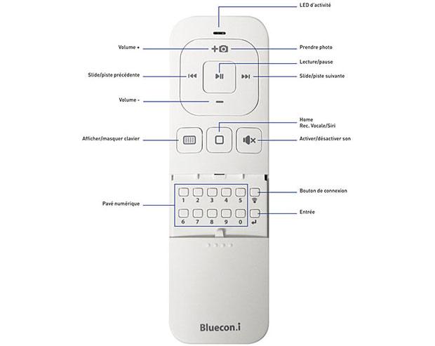 telecommande bluecon.i