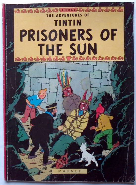 tintin prisoners of the sun