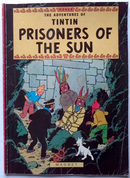 tintin prisoners of the sun