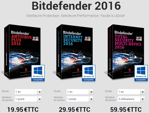 test et avis de bitdefender internet security 2016 nalaweb. Black Bedroom Furniture Sets. Home Design Ideas